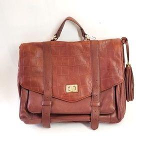 Cynthia Rowley Beautiful tan leather laptop bag
